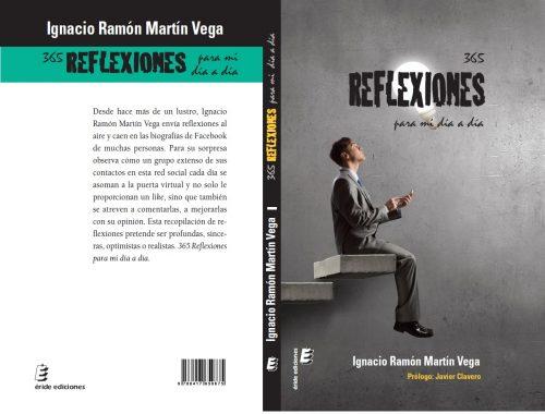 portada y contraportada del libro 365 reflexiones de Ignacio Ramón Martín Vega